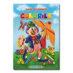 Culorile Carte de colorat Romana-Engleza B5