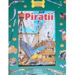 Piratii. Carte cu 8 puzzle
