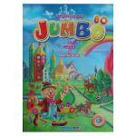 Jumbo cu animale si abtibilduri Carte de colorat A4