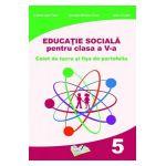 Educatie sociala cls V caiet de lucru si fise de portofoliu
