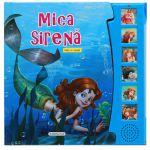 Mica sirena-carte cu sunete