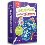 Labirinturi pentru relaxare-72 labirinturi refolosibile + o carioca