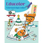 Educolor -Coloreaza dupa coduri-Acasa