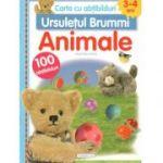 Animale-Carte cu abtibilduri