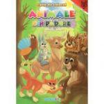 Animale din padure -Romana-Engleza A4