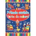 Primele Cuvinte-Carte de colorat-Romana-Engleza