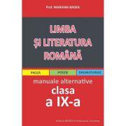 Limba si literatura romana pentru elevii de liceu clasa IX-Badea