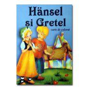 Hansel si Gretel. Carte de colorat-Roxel