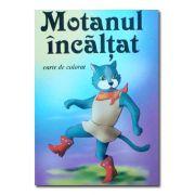 Motanul Incaltat. Carte de colorat-Roxel Cart