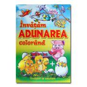 Invatam Adunarea colorand