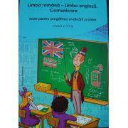 Limba romana-Limba engleza. Comunicare cls VI