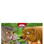 Animale salbatice pliant cartonat-Eurobookids