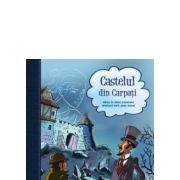 Castelul din Carpati album de benzi desenate adaptare dupa romanul lui Jules Verne