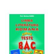 Bacalaureat oral si scris teste Limba si literatura romana-Badea