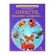 Insecte, paianjeni, scorpioni...-cartonase