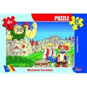 Motanul Incaltat-puzzle 35 piese