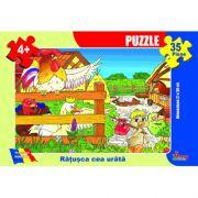 Ratusca cea urata-puzzle 35 piese