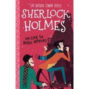 Sherlock Holmes-Un caz in rosu aprins