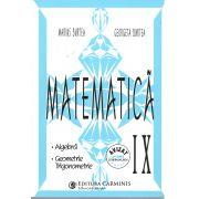Matematica clasa IX algebra,geometrie,trigonometrie