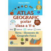 Atlas Geografic scolar clasa a-V-a