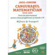 Jocul-concurs Cangurasul Matematician 2020-2021-Teste de antrenament pentru clasa pregatitoare si cl