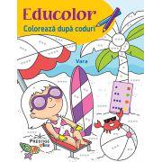 Educolor-Coloreaza dupa coduri-Vara