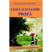 Proza-Vasile Alecsandri