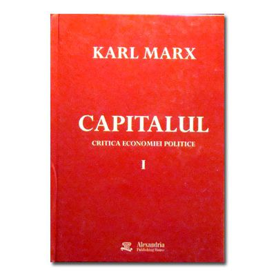 Capitalul. Critica economiei politice. Vol I