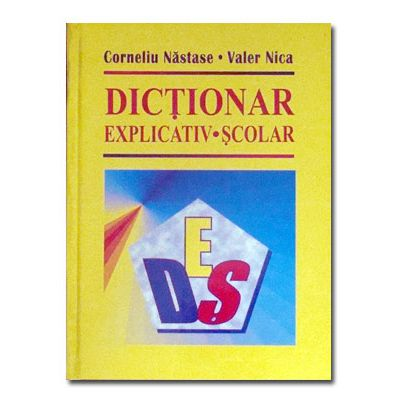 Dictionar explicativ scolar-Nasticor