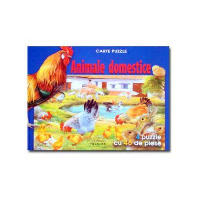 Animale domestice. Carte puzzle-Fl