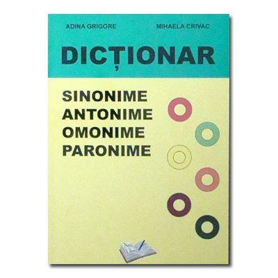Dictionar de sinonime, antonime, omonime, paronime-Ars Libri