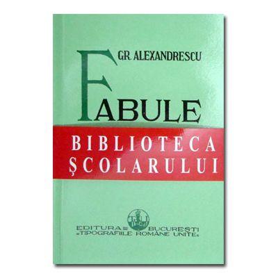Fabule. Grigore Alexandrescu-Semne