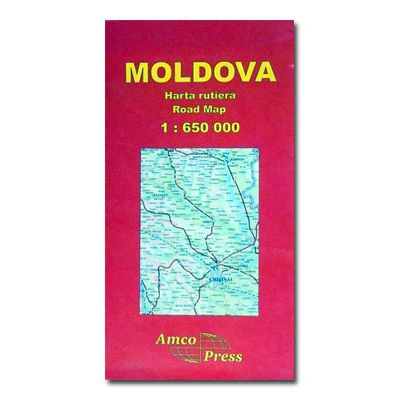 Moldova. Harta rutiera