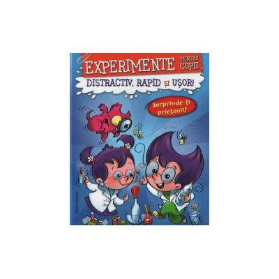 Experimente pentru copii Distractiv,rapid si usor-Albastra