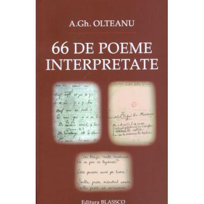 66 de poeme interpretate