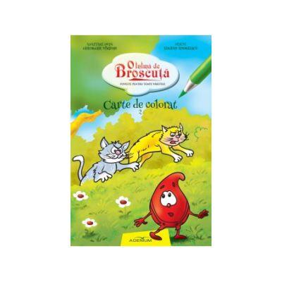 O inima de broscuta carte de colorat 2