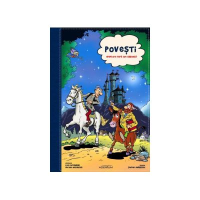 Povesti Album de benzi desenate adaptare dupa Ion Creanga