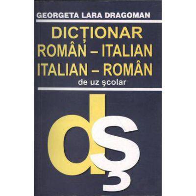 Dictionar roman-italian / italian-roman de uz scolar-Lucman