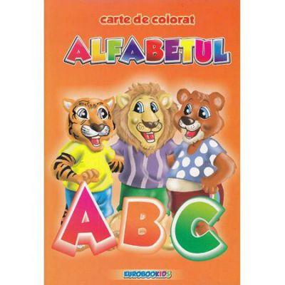 Alfabetul Carte de colorat B5