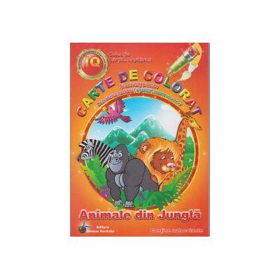 Carte de colorat si activitati practice Animale din jungla