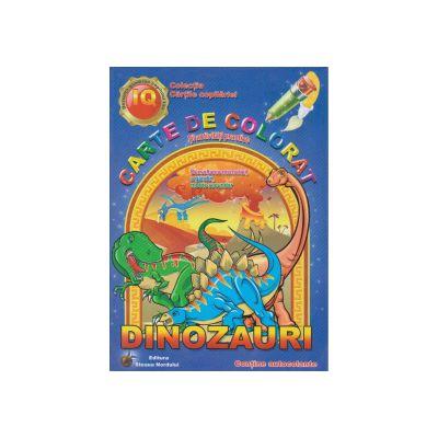 Carte de colorat si activitati practice Dinozauri