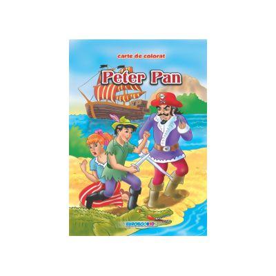 Peter Pan Carte de colorat B5-Eurobookids