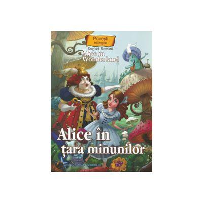 Povesti bilingve Engleza-Romana Alice in tara minunilor