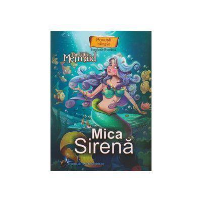 Povesti bilingve Engleza-Romana Mica sirena