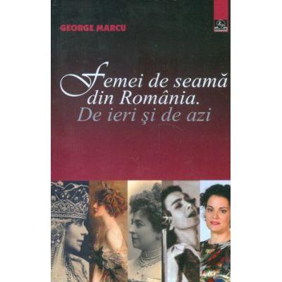 Femei de seama din Romania de ieri si de azi-Meronia