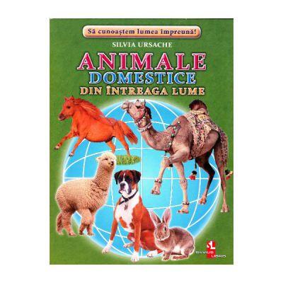 Animale domestice din intreaga lume-cartonase