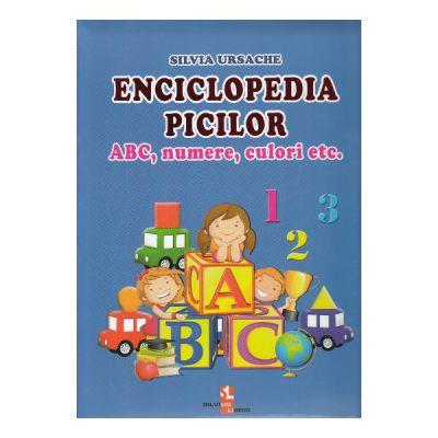 Enciclopedia picilor-ABC, numere, culori etc.