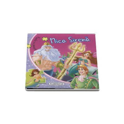 Mica sirena puzzle-Flamingo