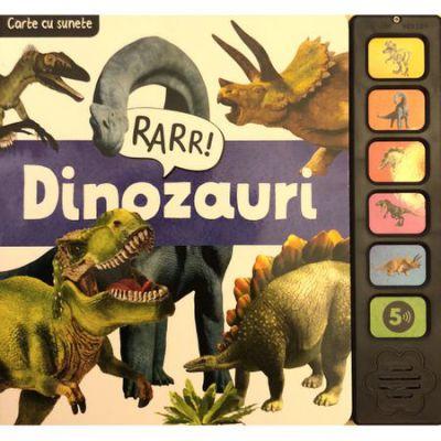 Dinozauri-carte cu sunete
