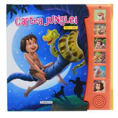 Cartea junglei-carte cu sunete